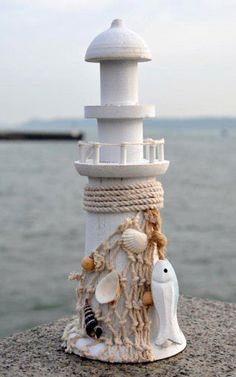 Lighthouse gifts - seaside and coastal decor in glass