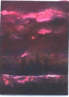 "Miniature acrylic painting ""Reflection"" by artist Jim Smeltz"