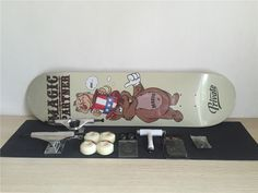 Complete Skateboards Set Private Deck Blank Trucks Element Wheels ABEC-3 Bearings Plus Hardware Set Riser Pad