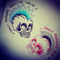 SLC PUNK THIS WOULD BE THE BEST COUPLE TATTOO!!!!!