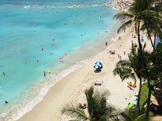 Learning to surf in Waikiki