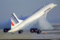 "Concorde: ""Fond Memories...""    Air France."