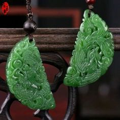 Crystals And Gemstones, Stones And Crystals, Crystal Beads, Chinese Ornament, Antique Jade, Jade Jewelry, Traditional Fashion, Jade Pendant, Schmuck Design