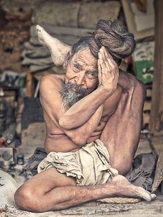 Amazing Yogi ~ Sadhu from Pashupatinath Temple, Kathmandu, Nepal