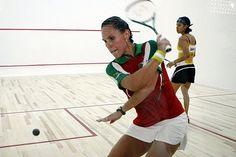 Entra Samantha Terán al cuadro principal en el Abierto de Squash de Hong Kong