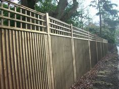 Image result for featheredge fencing with trellis