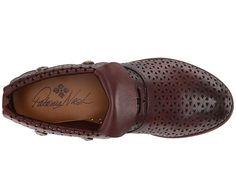 7d2bef48dff Patricia Nash Sabrina Women s Shoes Merlot Leather