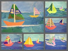First grade - Winslow Homer boats