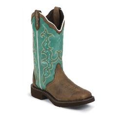 If you're a fan of the Justin Gypsy boot line, these are boots are for you!  Gypsy with an updated look!