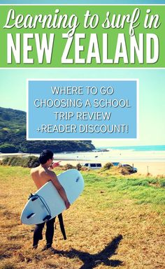 Heading to New Zealand? This tiny country has some of the most beautiful coastline in the world, empty oceans, and the friendliest people; the perfect place to learn to surf! Bren shows you what happens during the famous Rapu surf camps, and a cool little discount for readers too. Check it out! New Zealand Itinerary, New Zealand Travel Guide, Learn To Surf, Surf Trip, Travel Guides, Travel Tips, Travel Destinations, Travel Articles, Beautiful Places To Visit