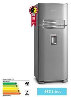 Refrigerador Electrolux 2 Portas Cycle Defrost 462 Litros, por apenas R$1799