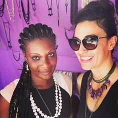 Sales Manager, Amandine, takes a selfie break at the MASA festival with Muse Group Founder, Jessica http://www.musegroup.org/latest/en/team/