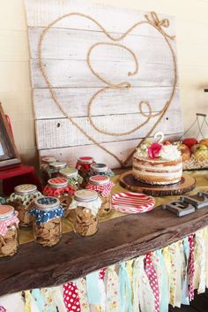 Rustic County Fair birthday party! See more party ideas at CatchMyParty.com!