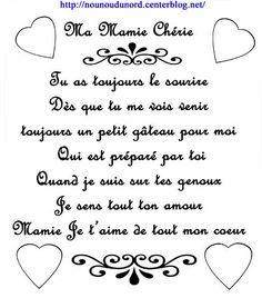 Poeme A Imprimer Pour La Fete Des Mamies Fete Des Meres Peres