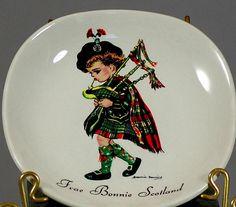 Frae Bonnie Scotland Brownie Downing Plate by TheVintageVaultLLC