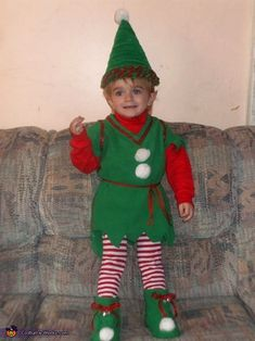 Halloweens Christmas Elf - Halloween Costume Contest