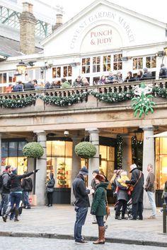Viist Covent Garden at Christmas /JessOnThames