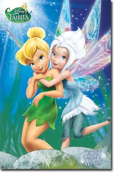 Disney Tinkerbell Fairies Secret Of The Wings Poster Shipping