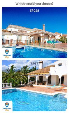 Which would you choose? SP028: http://www.panoramicvillas.com/…/la-cala-de-mi…/villa-sp028/ sp058: http://www.panoramicvillas.com/…/la-sierrezuela/villa-sp058/ #Spain #Villaholidays #Mijas