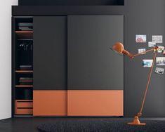 18 Ideas For Bedroom Wardrobe Design Storage Sliding Wardrobe Designs, Wardrobe Design Bedroom, Bedroom Cupboard Designs, Sliding Wardrobe Doors, Bedroom Bed Design, Bedroom Cupboards, Bedroom Furniture Design, Modern Wardrobe, Wardrobe Closet