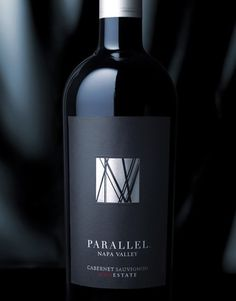 Parallel Napa Valley Wine Parallel Napa Valley Wine Label & Package Design Napa Valley