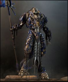 amazingly detailed 3d character design