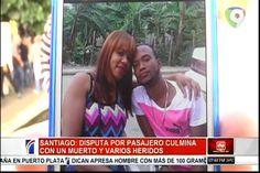En Santiago La Disputa De Pasajero Culminó En Tragedia