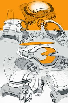 City car on Behance Car Design Sketch, Car Sketch, Id Digital, Conceptual Drawing, Industrial Design Sketch, Id Design, City Car, Futuristic Cars, Motorcycle Design