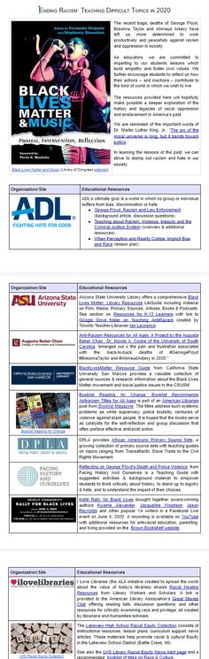 Document of resources compiled by Margaret Lincoln, PhD, Lakeview Schools District Librarian Fiction And Nonfiction, Arizona State, Music Library, Library Of Congress, Oppression, Social Justice, Lincoln, Schools