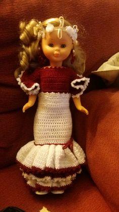 Mi primer vestido para Nancy...