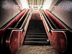 Abandoned Escalators  www.vacuumelevators.com #PneumaricVaccum #Elevators