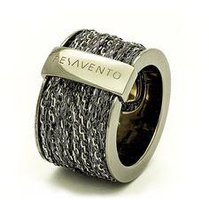 """Pesavento""""DNA""""Ring Rutenio maat L (58 - 61) Description: Pesavento""""DNA""""Ring Rutenio maat L (58 - 61) Price: 475.00 Meer informatie"""