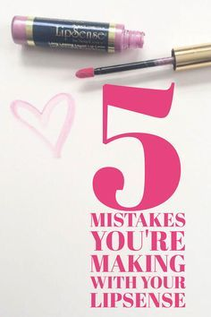 5 Mistakes you're making with your LipSense. Are you guilty in your LipSense application game? Learn how to put on LipSense