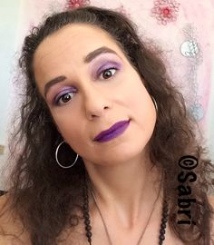 Totally #inlove with this #look featuring #citycolorcosmetics #intenseshine and #maybelline #loadedbolds #lipstick in #violetvixen. #purpleeyeshadow and #purplelips? Why not?! #Beauty #Belleza #Bellezza #Beauté #Beleza #Cosmetics #Cosméticos #Cosmetici #produitsdebeaute  #Makeup #Maquillaje #maquillage #maquiagem #fabat40.