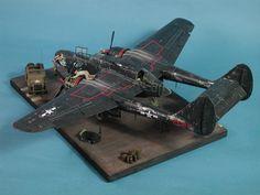 scalespot.com - GWH 1/48 P-61A Black Widow
