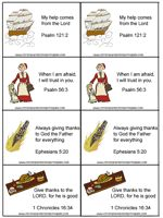 Thanksgiving Bible Verse Cards