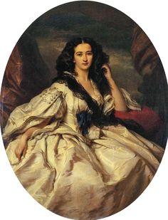 Wienczyslawa Barczewska, Madame de Jurjewicz :: Franz Xavier Winterhalter