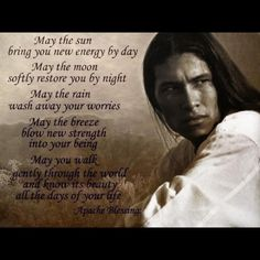 Beautiful Apache quote