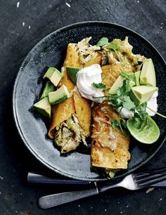 Chicken Enchilada Recipe With Green Sauce Recipe