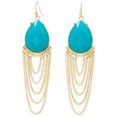 Kirra Tate Drape Turquoise Earrings. #laylagrayce #kirratate #turquoise