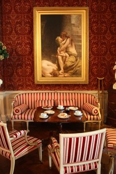 Red Rooms, Red Interiors, Red Paint, Shades Of Red, Very Well, Interior Decorating, Photographs, Houses, English