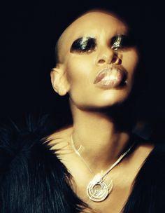 Skunk Anansie Skin, Black Women Rockers - http://superselected.com/editorials-skin-of-skunk-anansie-schon-26-images-by-julia-kennedy/