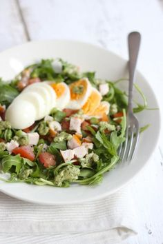 Lekker en Simpel uploaded this image to See the album on Photobucket. Healthy Salads, Healthy Cooking, Healthy Eating, Healthy Recipes, I Love Food, Good Food, Yummy Food, Soup And Salad, Quiche