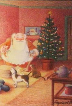 Raymond Briggs - Father Christmas
