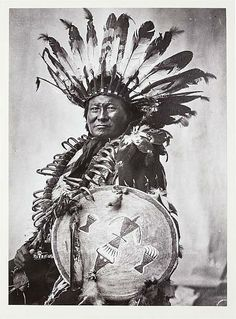 Rain-in-the-Face. Sioux. Early 1900s. Photo by F.B. Fiske. Source/ State Historical Society of North Dakota.
