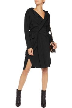 Shop on-sale Isabel Marant Pleated silk-blend wrap dress. Browse other discount designer Dresses & more on The Most Fashionable Fashion Outlet, THE OUTNET.COM