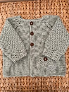 Baby Knitting Patterns, Baby Patterns, Knitted Baby Cardigan, Baby Knits, Knitting Projects, Gabriel, Sweaters, Jackets, Clothes