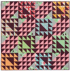 Good and Plenty quilt by Victoria Eapen