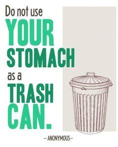 No Garbage!
