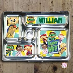 PlanetBox Rover Magnets - Super Why [Super Why magnet - rover] - $5.00 : Max & Otis Designs, handcrafted gifts from a short-attention span crafter